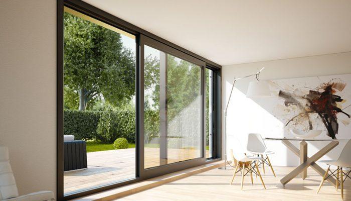 سیستم در/پنجره کشویی-لولایی آلومینیوم (Lift and Slide Door/Window)