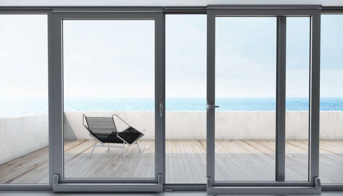 سیستم در/پنجره فولکسواگنی آلومینیوم (Tilt and Slide Door/Window)