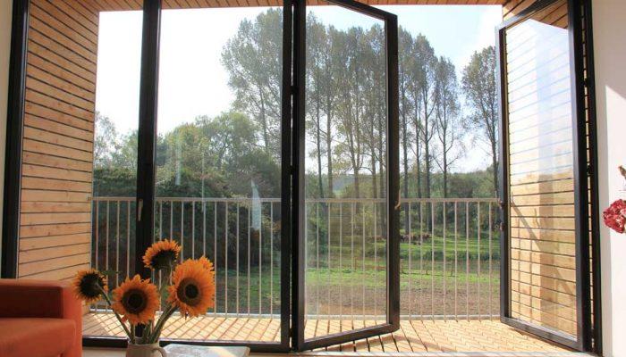 سیستم در/پنجره فرانسوی آلومینیوم (French Door/Window)